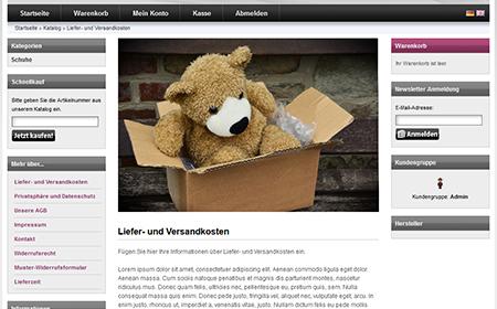 modified eCommerce  - Bilder für Content Seiten