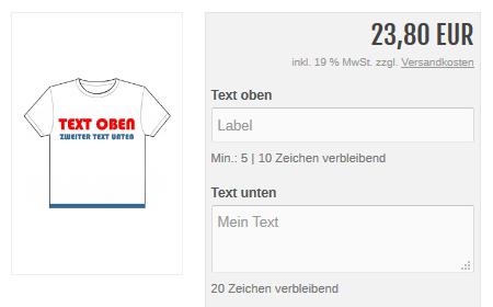 xt:Commerce  - Freitext Attribute - Textfeld, Zahl und Datum