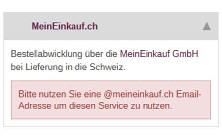 xt:Commerce  - MeinEinkauf.ch Versandmodul